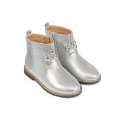 mothercare - giày boot bạc cho bé gái
